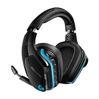 Logitech G935 Wireless DTS X 7.1 Surround Sound LIGHTSYNC RGB PC Gaming Headset - Black/Blue