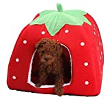 RiamxwR Pet Dog House Tent Hamster Guinea Pig Rabbit Dog Cat Chinchilla Hedgehog Small Animal Pet Bed House Hideout Cage Shelter Cave Tent Spring Pet Accessory