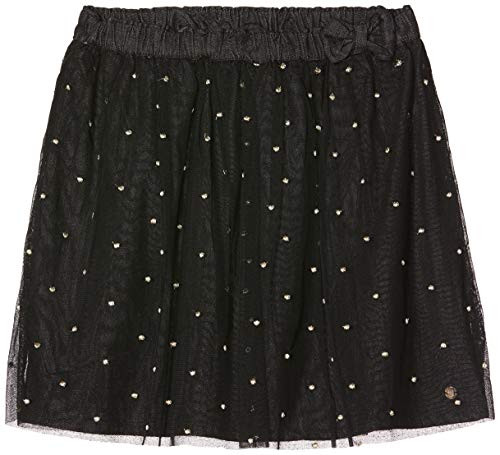 IKKS rok met strik, tule, zwart