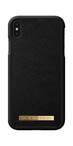 IDEAL OF SWEDEN Handyhülle für iPhone X/XS (Saffiano, Vegan Leather) (Black)