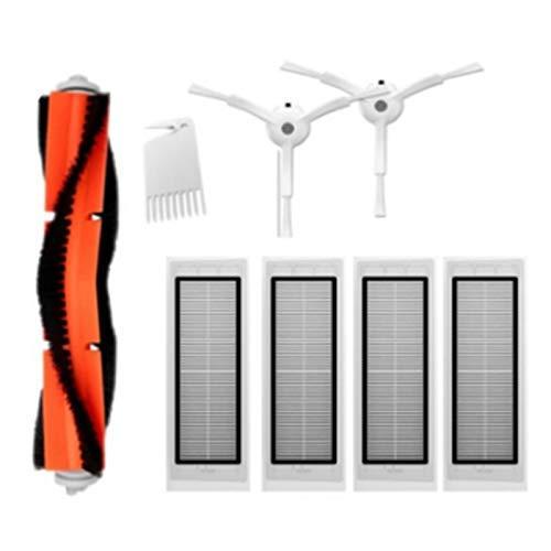 Para Robot Aspiradora Lateral/Cepillo Rodante Filtros Hepa Reemplazo para Robot Aspiradora Aspiradora Aspiradora Kit Accesorios Filtros Reemplazo