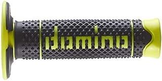 125 mm Accessori 97.5595.04-00 Domino COPPIA MANOPOLE BICOLORE NERO//GRIGIO PER MOTO TRIAL IN MATERIALE BICOMPONENTE Lunghezza