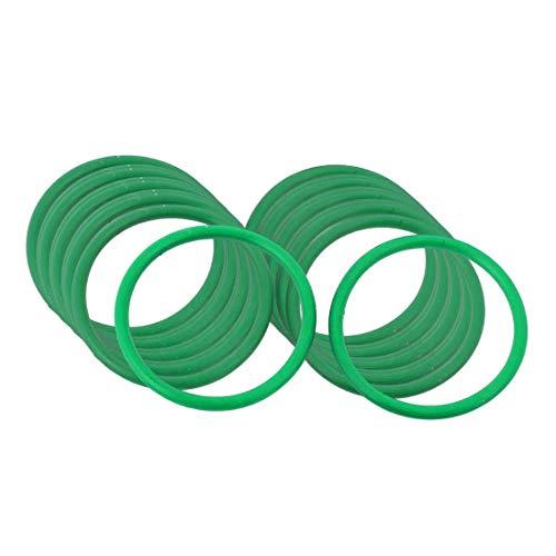 5 Pcs Grüne O-ringe 26mm x 2mm | Fluorkautschuk - FKM/FPM Dichtungsringe Dichtung Gummidichtung Oring 26x2 HÄRTE 80 ShA| Dichtungen Gummiringe Set | O-ringe Sortiment | Dichtungssatz Sanitär