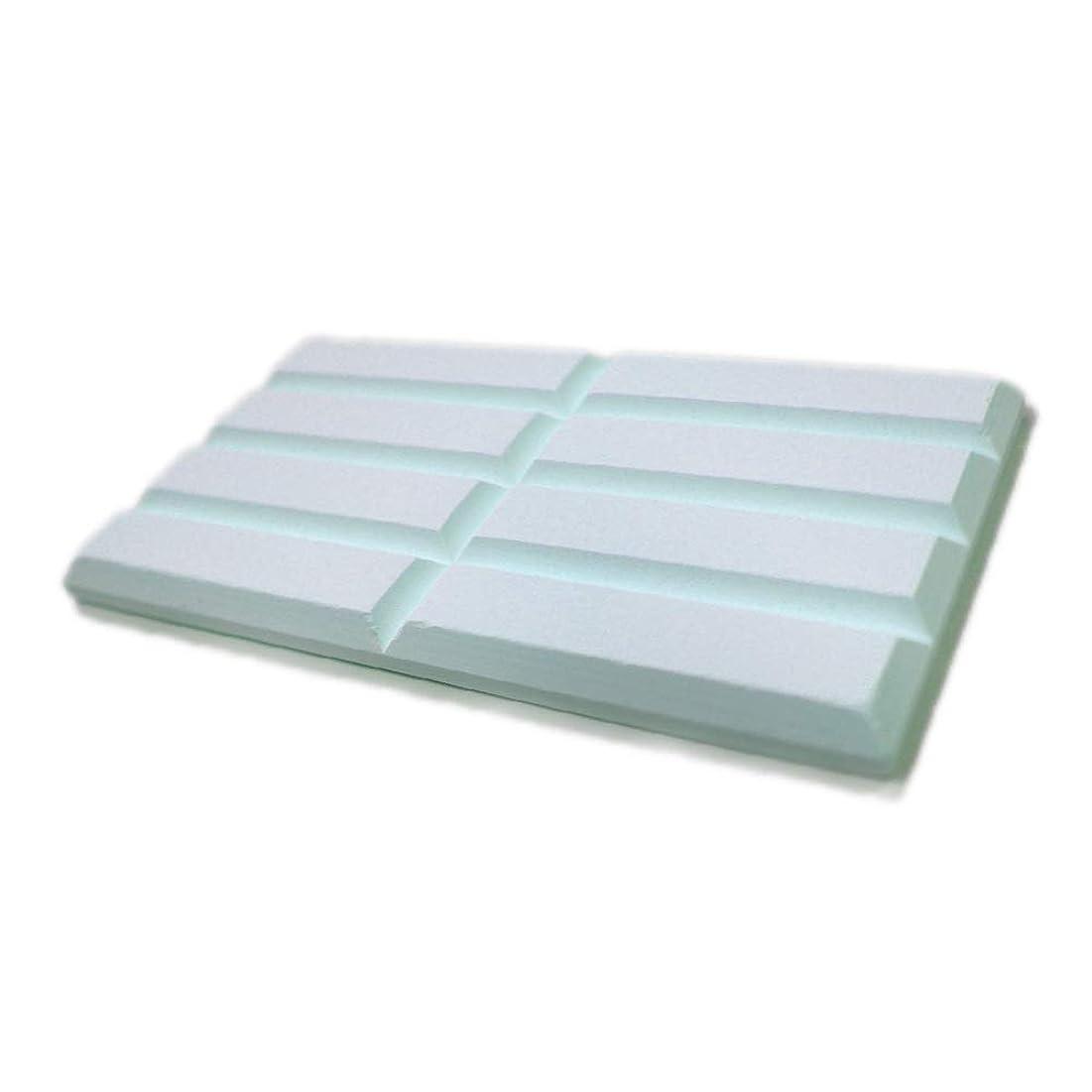 申請中カーテン典型的なWEIMALL 珪藻土 ブロック サイズ:(約)120mm×64mm×6mm(8pcs) 56g ブルー