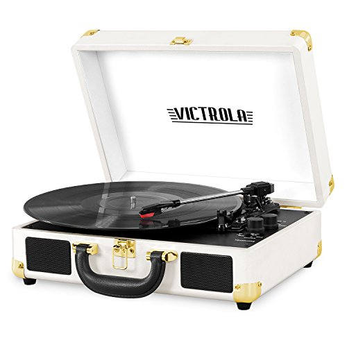 Victrola Vintage 3-Speed Bluetooth Portable...