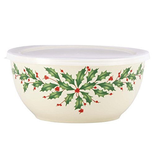 Lenox Holiday Serve and Store Bowl With Lid