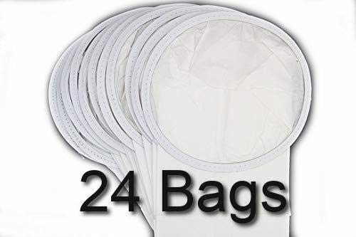 All Parts Etc 24 Pack of Micro Filtration Allergy Allergen Paper Bags Compatible with GV 6 Quart Backpack Vacuum Cleaner Using This Short Round Top Style