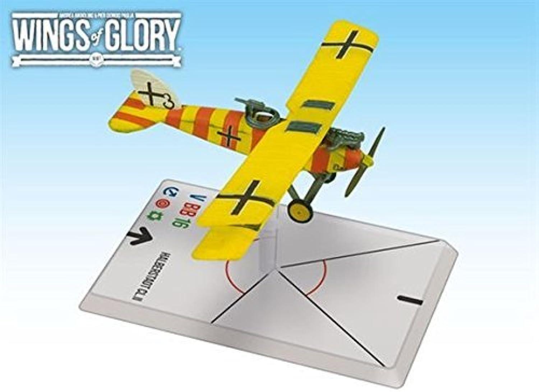 Wings of Glory  WWI  Halberstadt CL.II (Niemann Kolodzicj) by Ares Games