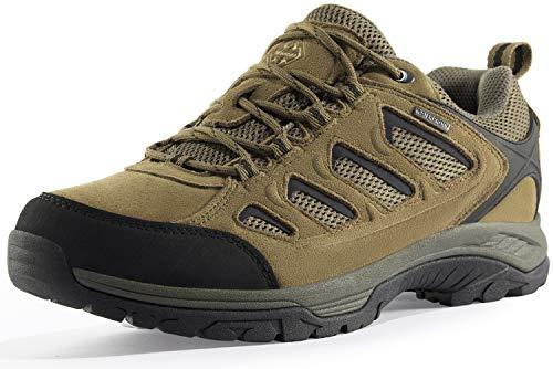Wantdo Zapatillas de Trekking Seguridad Andar Hombre Amarillo 46.5