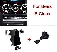 Gpsの車携帯電話ホルダーメルセデスベンツbクラスW246 W242 B180 B200 B250 2012から2020オートエアフィルタカー出口スナップ型ブラケットスタンド-red