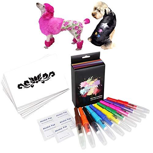 OPAWZ Blow Pen Set With Stencils