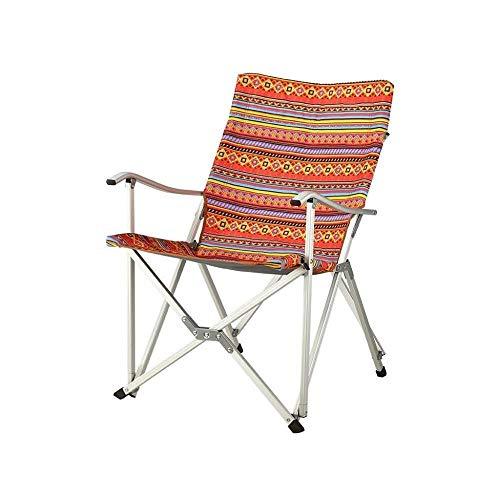 LHY draagbare campingstoel, reisstoel, voor eenvoudig transport, goede draagkracht