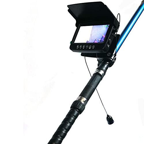U/H Fish Finder de alta definición, cámara de pesca con pantalla IPS de 4,3 pulgadas, cámara de pesca de alta definición LED de infrarrojos, pesca en mar y pesca en barco