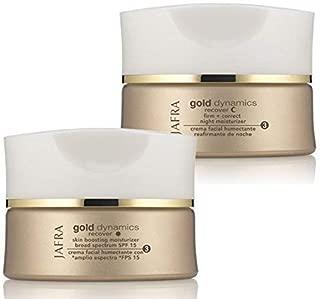 Gold Dynamics Skin Boosting Moisturizer Broad Spectrum SPF 15, Gold Dynamics Firm + Correct Night Moisturizer by Jafra