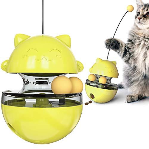 juguete gato dispensador comida