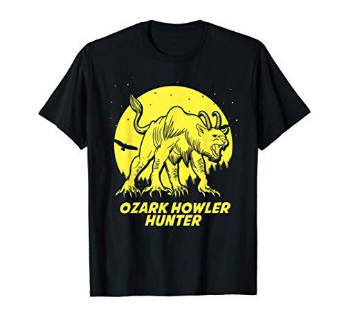 Ozark Howler Hide & Seek Hunter Champion Cryptid T-Shirt