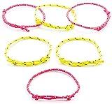 Baker Ross Freundschaftsbänder für Kinder - größenverstellbar - tolles Armband in Neonfarben -...