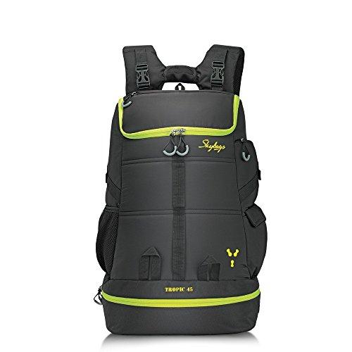 Skybags Weekender 57 cms Black Hiking Backpack (TROP45BLK)