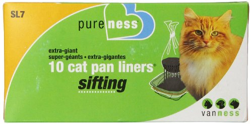 Van Ness Extra Giant Sifting Cat Pan Liners, 10-Count (225040)