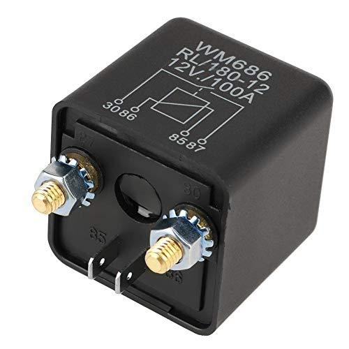 Startrelais, 12V 100A Normaal Open krachtig startrelais voor het in- / uitschakelen van de accu