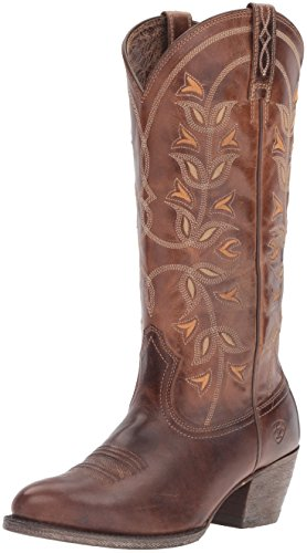 Ariat Women's Desert Holly Western Boots Country, Pearl, 5.5