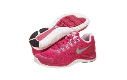 Nike Lady LunarGlide+ 4 Running Shoes - 6 - Pink