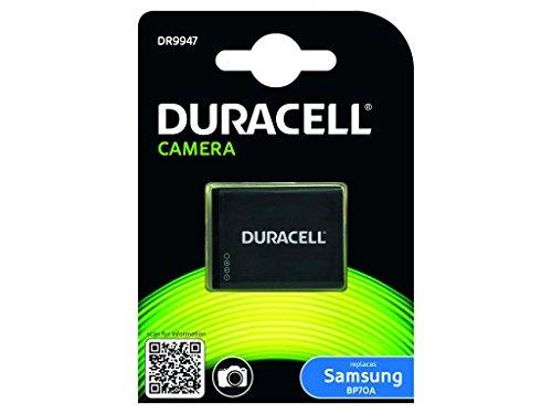 Duracell DR9947 - Batería para cámara Digital 3.7 V, 670 mAh (reemplaza batería Original de Samsung BP70A)