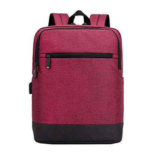 """ZLVWB Reisender Rucksack, Pendler Rucksack Schlank 15.6"""" Notebook & Tablet-Anti-Diebstahl-Geschäft, Schule, Travel-Buch-Tasche (Color : C, Size : One Size)"""