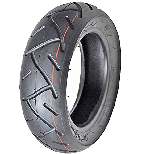 LYTBJ Neumáticos para Scooter eléctrico, neumáticos de vacío 10x3.0, Antideslizantes ensanchados, Cuerpo...