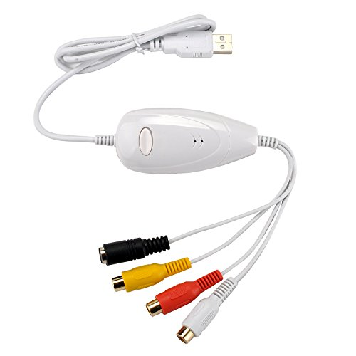 ezcap128G USB 2.0 Video Capture Grabber DVD Maker Device for MAC OS X