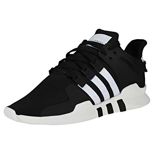 adidas EQT Support ADV, Zapatillas Hombre, Negro (Core Black/Footwear White/Core Black 0), 45 1/3 EU