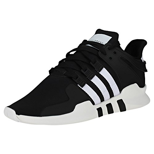 adidas Men's EQT Support Adv Gymnastics Shoes, Black (Core Black/FTWR White/Core Black), 8.5 UK
