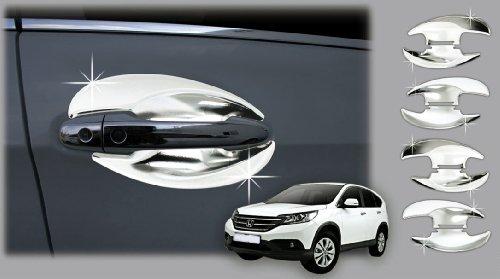 Zubehör für Honda CR-V ab 2012Tür Griffe, mit Chrom Kappen/con-covers Schüssel Tasse Tuning Türverkleidung