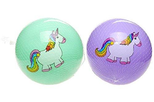 2 Unicornio bolas Pvc Partido Pelota 23cm