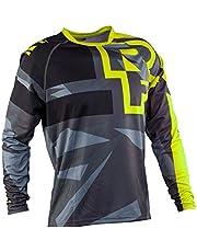 D-SYANA8 Camiseta de Bicicleta Moto Motocross MTB Jersey Ciclismo Manga Larga Deporte al Aire Libre para Gimnasio Entrenamiento Correr Unisex