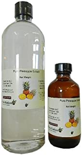 OliveNation Pure Pineapple Extract - 16 ounces - Gluten-free, Fruit Flavor - Premium Quality Flavoring Extract for Baking