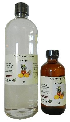 OliveNation Pure Pineapple Extract - 2 ounces - Gluten-free - Premium Quality Flavoring Extract For Baking
