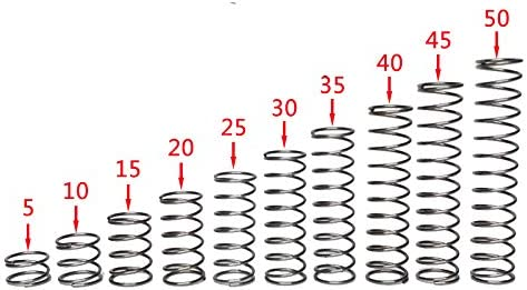 Ochoos 5Pcs 2.0mm Wire Diameter famous San Diego Mall Compression Spri Stainless Steel