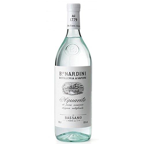 Grappa Nardini Bianca 1,0l - Bassano Aquavite Di Pura Vinaccia