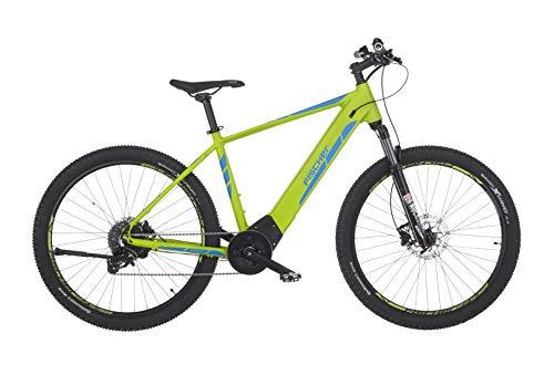 Fischer E-Bike MTB MONTIS 6.0i, grün matt, 27,5 oder 29 Zoll, RH 48 cm, Brose Mittelmotor 90 Nm, 36 V Akku im Rahmen