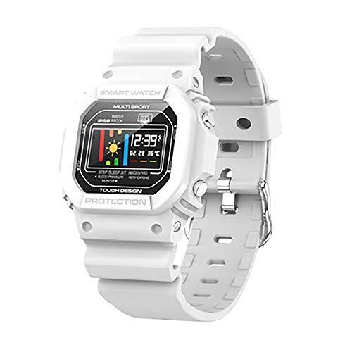 TEHWDE Activity sporthorloge smartwatch fitness armband tracker bluetooth smart watch IP68 waterdicht dames heren smartwatch polshorloge hartslagmeter slaapmonitor SMS-let op Android iOS
