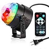 Party Lights,Disco Lights Sound Activated,Halloween Disco Ball Light,Stage Lights-Multi Colors Rotating Magic LED Strobe Lights for Xmas Parties,Room,Pool,Club,Home,Church,Karaoke,Wedding