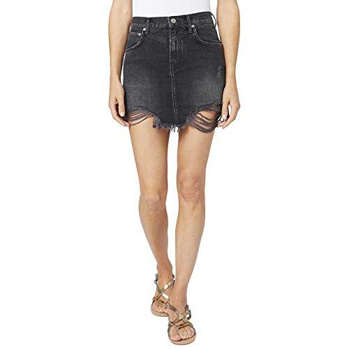 Pepe Jeans Falda Rachel Negra para Mujer Medium Negro