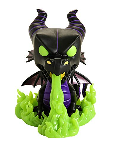 Funko Pop! Disney Villains – Maleficent as the Dragon (Glow in the Dark Exclusive) #720