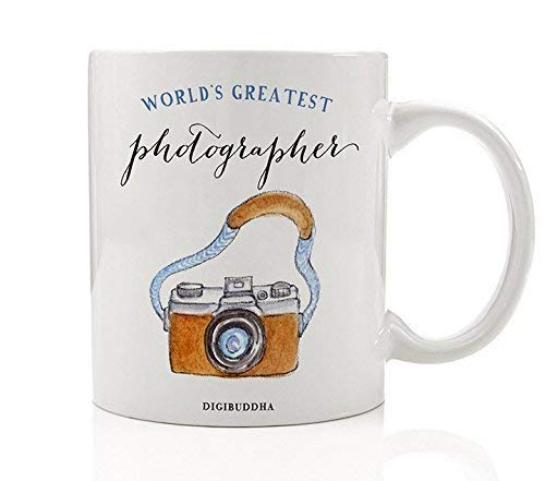 Photographer Gifts World's Greatest Mug Oh Snap Camera Photography Professional Christmas Present Birthday Gift Idea for Men Woman Her Him from Client Family 11oz Ceramic Coffee Cup Digibuddha DM0329