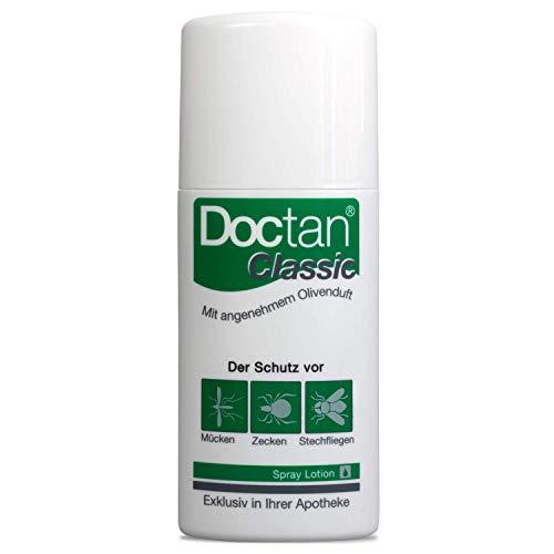 Doctan® Classic Lotion – bis zu 12h Schutz vor Mücken, Zecken, Stechfliegen, Malariaprophylaxe, Zika-Virus, Olivenduft