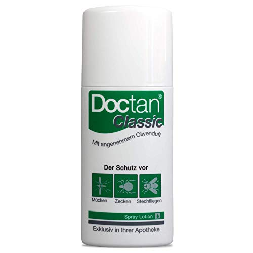 Doctan Classic Spray Lotion Insektenschutzmittel, 100 ml lotion