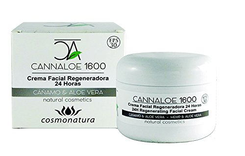 Cannaloe 1600 Crema Facial Regeneradora 24 Horas - 100 ml