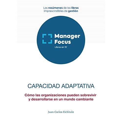 Diseño de la portada del título Resumen de Capacidad adaptativa de Juan Carlos Eichholz
