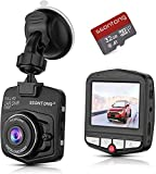 Mini Dash Cam, Small Dash Camera for Cars Full HD 1080P 2.31' IPS Screen 140°Wide Angle Small Dash Cam w/ G-Sensor, Parking Monitoring, Loop Recording and 32GB SD Card Included [2021 New Version]